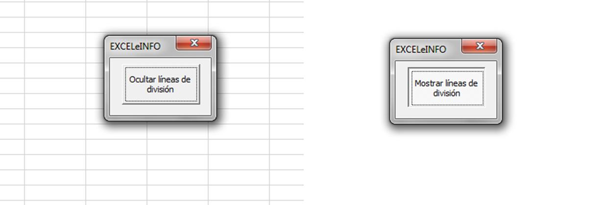 Uso de ToggleButton en Excel vba