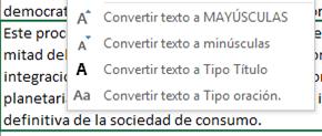 Add-in para manipulación de texto en Excel