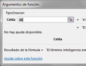 UDF convertir texto a oracion en Excel