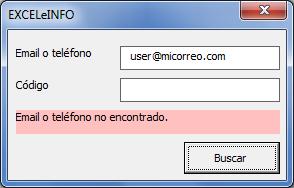 BUSCARV con Excel vba
