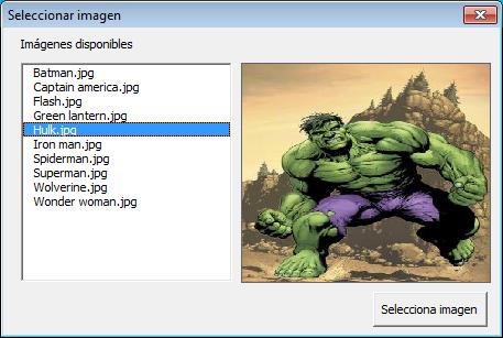Mostrar imágenes en formulario de Excel vba