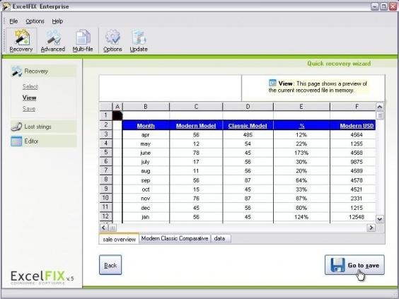 Recupera archivos dañados con ExcelFIX