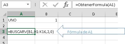 UDF para obtener la fórmula de una celda como una cadena de texto en versiones previas a Excel 2013