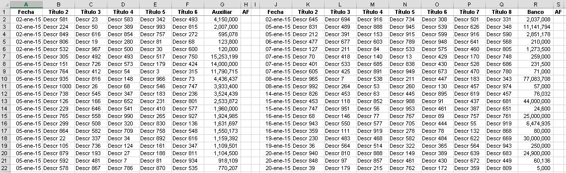 Conciliando cuentas con Excel por Héctor Miguel