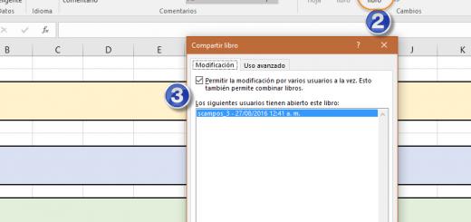 Trabajar con archivos de Excel compartidos en redes locales LAN