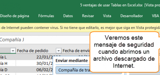 Manejar archivos bloqueados en Excel. Mis complementos desaparecen después de ser instalados