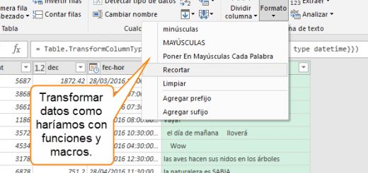 Aprendamos Power Query para Excel – Importando datos básicos y primeras trasformaciones – 2