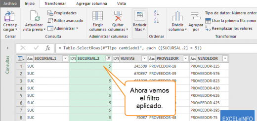 Extraer datos de un archivo de texto a Excel con Power Query