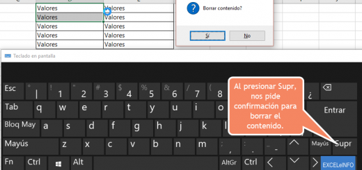 Asignar macros a teclas o combinación de teclas en Excel usando OnKey