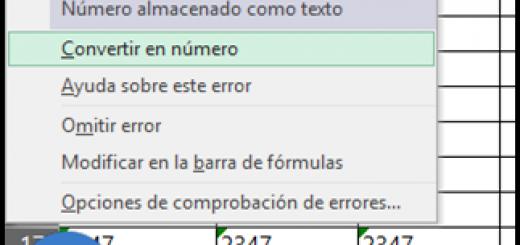 3 maneras para convertir números con formato de texto a número con y sin macros VBA
