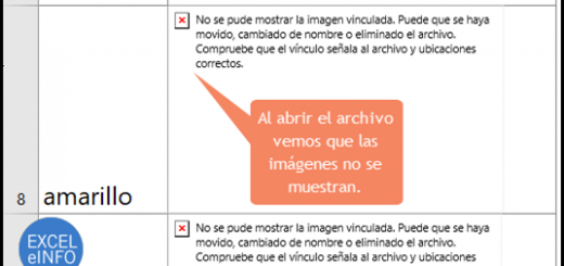 Insertar imágenes en Excel usando VBA y macros y dejar las imágenes guardadas en el mismo archivo