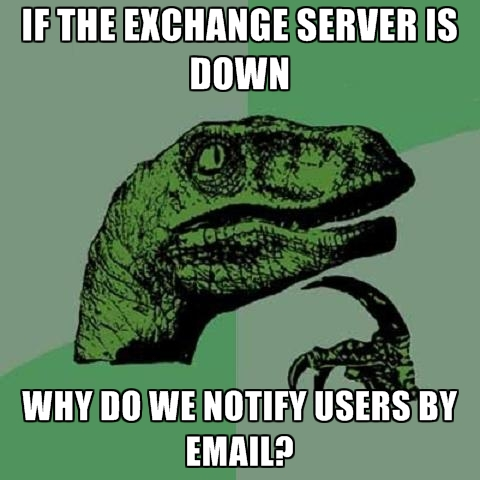 if-the-exchange-server-is-down-why-do-we-notify-users-by-email