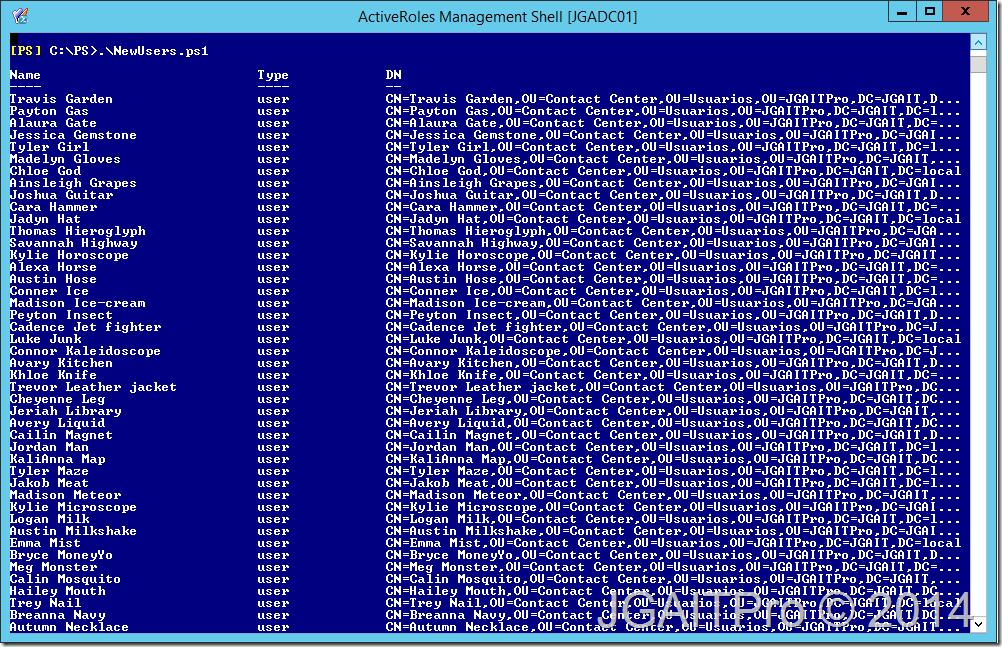 Windows Server 2012 R2 – Crear múltiples usuarios en Active ...