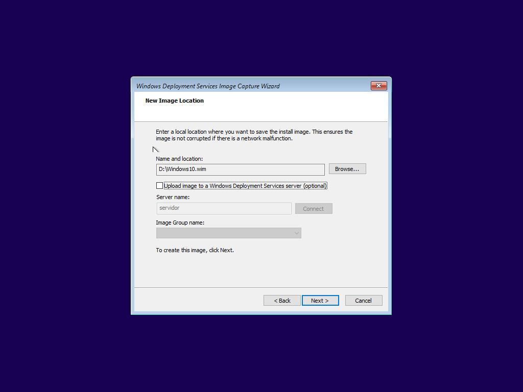 Capturar una imagen de Windows 10 desde WDS – Blog de
