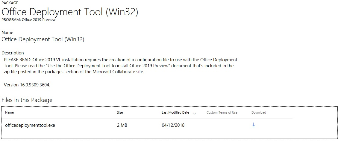 Instalar Office 2019 Preview desde ODT – Blog de Octavio Rdz
