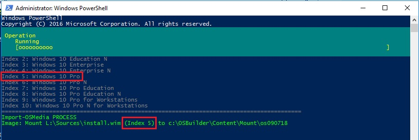 Trabajando Windows 10 1809 con OSBuilder – Blog de Octavio Rdz