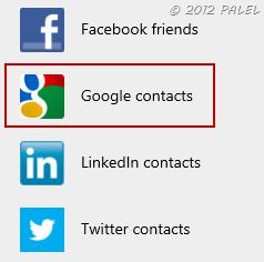 Agregar personas a la lista de contactos en Outlook.com