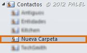 Nueva carpeta de contactos