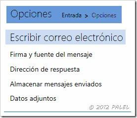 Outlook.com - Opciones de correo - Escribir correo electrónico
