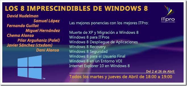 Los 8 imprescindibles de Windows 8