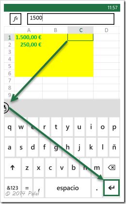 Excel Mobile: Copiar y Pegar celdas - Imagen 6