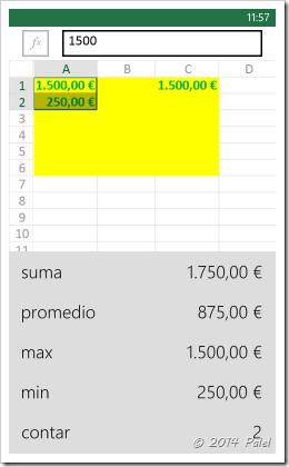 Excel Mobile: Copiar y Pegar celdas - Imagen 8
