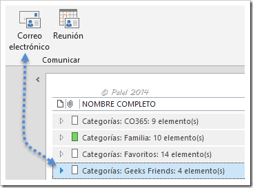 Grupos de contactos - palel.es