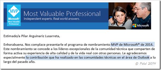 MVP 2014 - palel.es