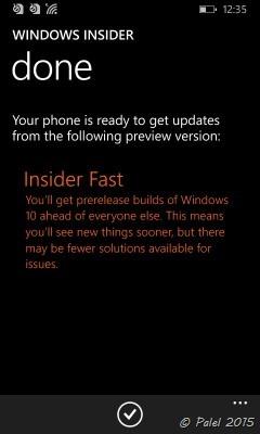 WP 8.1 Update 2 - WP10 - palel.es
