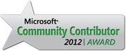 Microsoft Community Contributor 2012