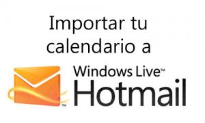 Importar tu Calendario a Hotmail