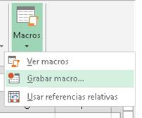 Tu primera macro en Excel
