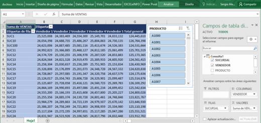 Unir varios archivos y hacer Tabla dinámica de más de 1 millón de registros usando Power Query y Power Pivot en Excel