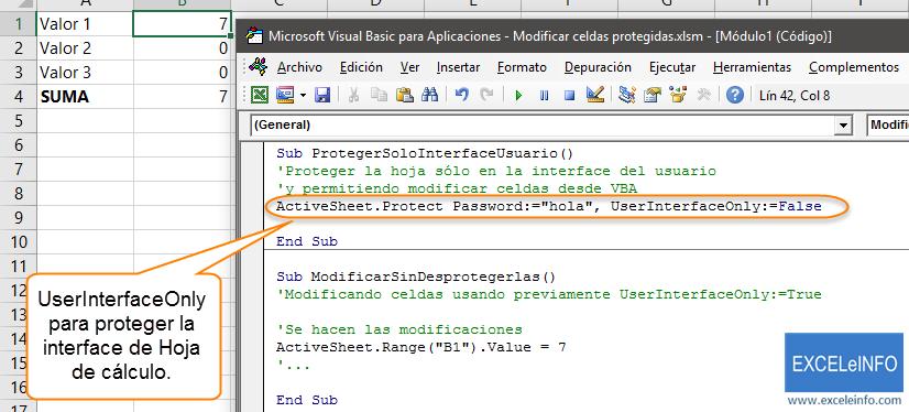 2 maneras de modificar celdas protegidas en Excel, con macros ...