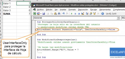 2 maneras de modificar celdas protegidas en Excel, con macros