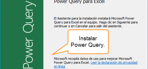 Aprendamos Power Query para Excel – Instalación y primeros pasos – 1