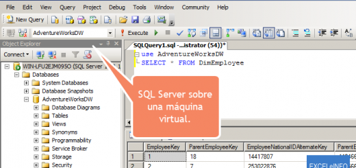 Aprendamos Power Query para Excel – 8 – Consulta desde una base de datos SQL Server