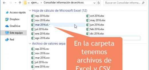 Aprendamos Power Query para Excel – 6 – Consolidar información de varios archivos de Excel