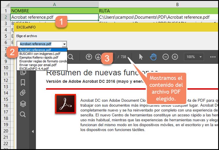 Mostramos el contenido del archivo PDF elegido.