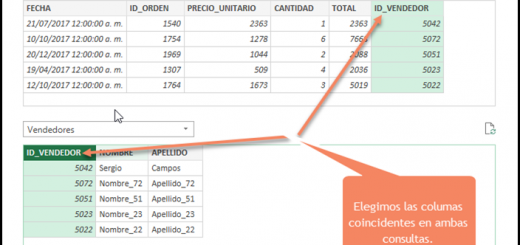 Power Query para Excel - Capítulo 10 - Combinar Tablas y Consultas. Alternativa a BUSCARV
