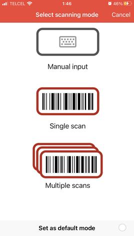 Leer códigos de barras simples y múltiples desde tu celular y pasar a Excel.