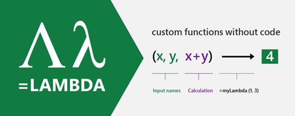 Función LAMBDA en Excel