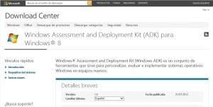 Otra Actualización Windows ADK para Windows 8 !!