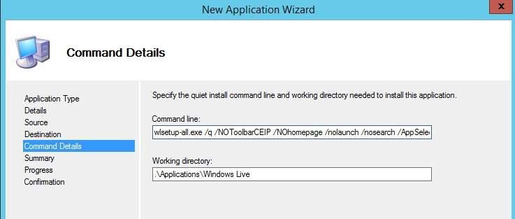 Instalación Desatendida de Microsoft Windows Live con MDT 2012