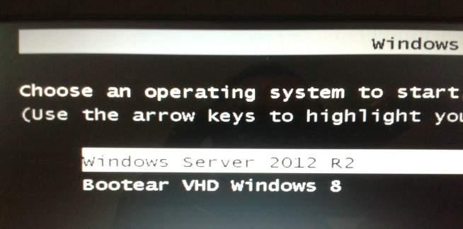 Bootear Windows 8 cuando es VHD (video)