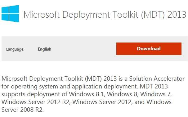 Microsoft Deployment Toolkit 2013 !!!!!