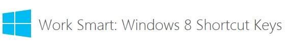 Guia Oficial para las teclas de acceso rapido en Windows 8