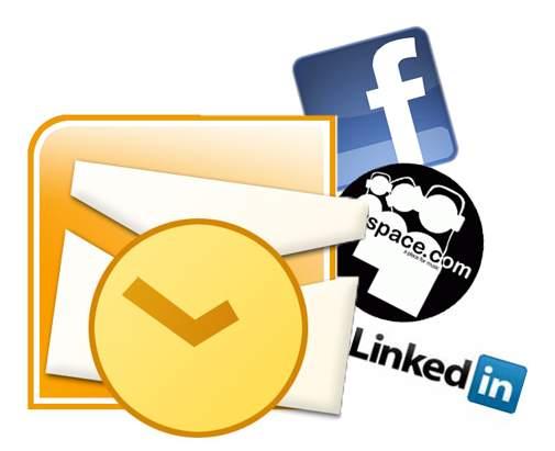 Conectar Outlook 2007/2010 con Social Connector para Facebook