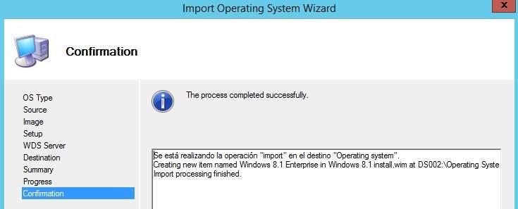 Crear una imagen de referencia de Windows 8.1 MDT 2013