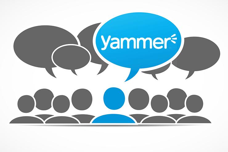 Cuentas de Yammer Publicas